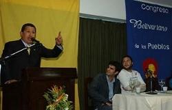 EL CONGRESO BOLIVARIANO DE LOS PUEBLOS, CAPITULO PARAGUAY, RECIBIO AL PRESIDENTE CHAVEZ